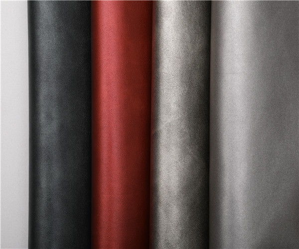 Latest microfiber fabric leather wholesaler