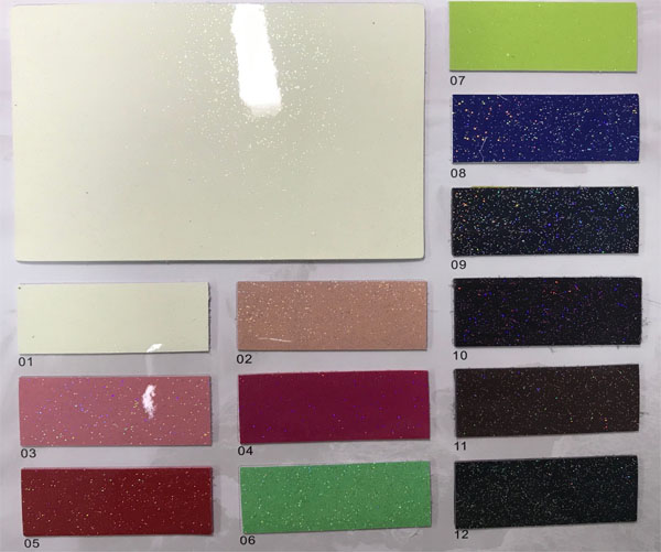 Microfiber leather for ladies handbags mirror shiny Supplier in China
