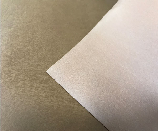 notebook material leather cover microfiber leather packaging