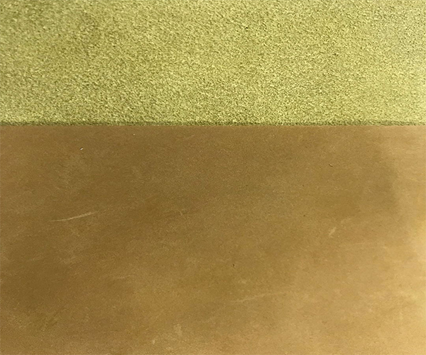 Grind arenaceous microfiber leather  for boots or flat shoes 1.8mm