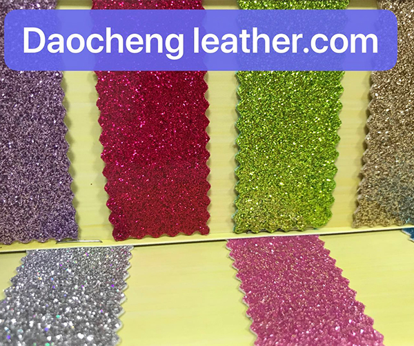 Mirror  microfiber Leather Glitter materials for shoes