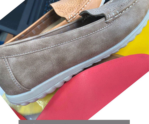 The softness imitation microfiber leather for casuals shoes making